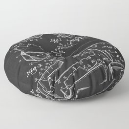 Vintage Nurse's Cap Patent 1940's Floor Pillow