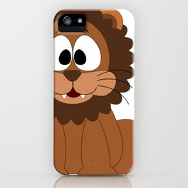 Cartoon Cute Lion iPhone Case