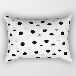 Polka Dot Gross Stripes Rectangular Pillow