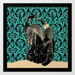 It takes two to tango! Art Print