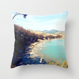 San Simeon Bay Throw Pillow