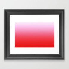 pink comic  Framed Art Print