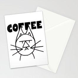 FelTipCat - Coffee Cat Stationery Cards