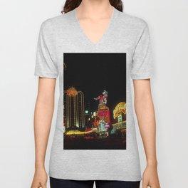 Las Vegas Nevada Unisex V-Neck
