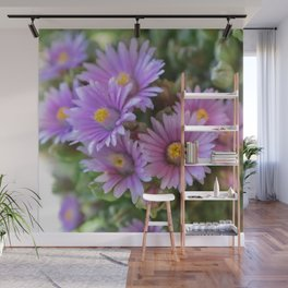 Blooming Succulents Wall Mural