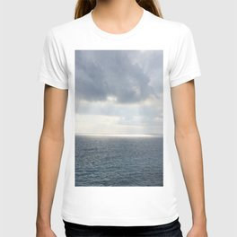 Light from the Sky in the Mediterranea Sea T-shirt