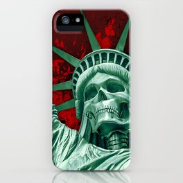 Liberty or Death iPhone Case