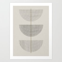 Geometric Composition III Art Print