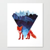 road Canvas Prints featuring Risky road by Robert Farkas