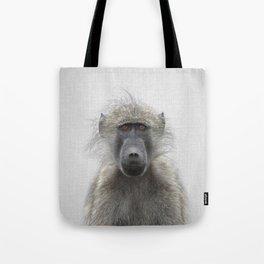 Baboon - Colorful Tote Bag