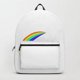 Funny Unicorn Riding a Bike Rainbow Unicorn Lover Gift Backpack