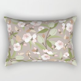Almond orchard Rectangular Pillow