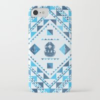 diver iPhone & iPod Cases featuring Diver by parallelish