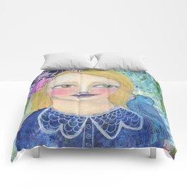 normal is boring Comforters