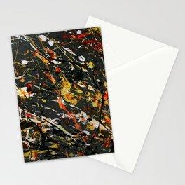 Jackson Pollock Interpretation 2017 Stationery Cards
