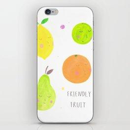 Friendly Fruit iPhone Skin
