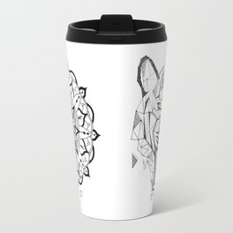 Tiger   Mandala Travel Mug