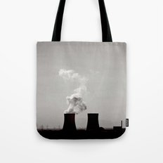 Nuclear silhouettes Tote Bag