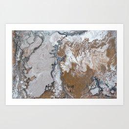Bronzed Art Print