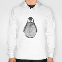 penguin Hoodies featuring penguin by barmalisiRTB