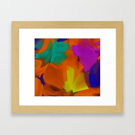 A convergence of forces on laundry day - 001 Framed Art Print
