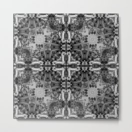 Palazzo Photographic Pattern Metal Print