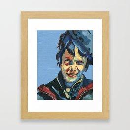 face1 Framed Art Print