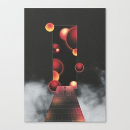Void Vibes Only Canvas Print