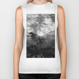 And With the Trees... Biker Tank