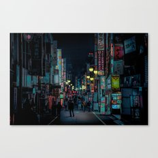 Kabukicho Nights Canvas Print