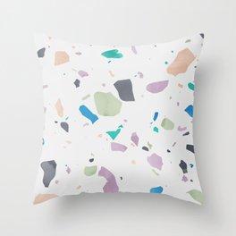 Terrazzo 2 Throw Pillow