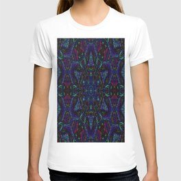 Near Black Daylily (under metaphorical blacklight) T-shirt