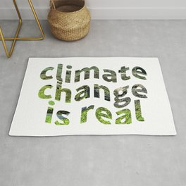 Climate Change Global Warming Is real Rug