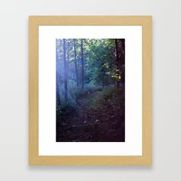 The Magic at Dusk Framed Art Print