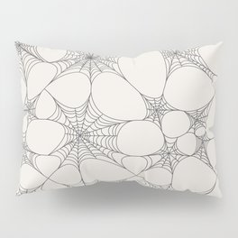 Spiderweb Pattern Pillow Sham