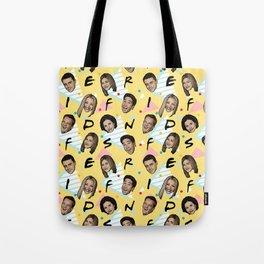 Friends Pattern Art Tote Bag