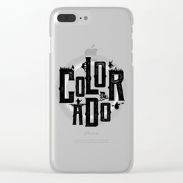 Colorado Playground Clear iPhone Case