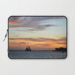 Sunset in Key West Florida Laptop Sleeve