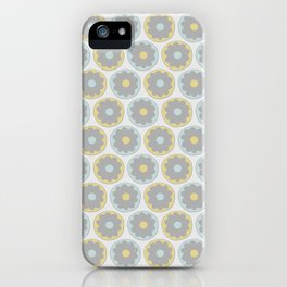 Abstract flowers iPhone Case