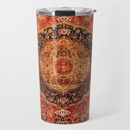 Seley 16th Century Antique Persian Carpet Print Travel Mug
