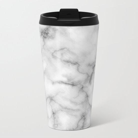 Marble Art V3 Metal Travel Mug