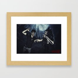 Halloween Nightmare Poster  Framed Art Print