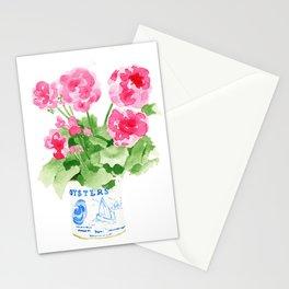 Potted Geranium no. 2 Stationery Cards