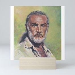 Sean Connery - 𝕻𝖔𝖓𝖙𝖊 𝕭𝖎𝖊𝖓 - Double O Seven James B' OND Hollywood International Superstar 3 Mini Art Print