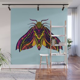 Elephant Hawk Moth Wall Mural
