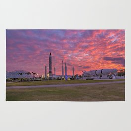 Spacely Sunsets in Florida Rug