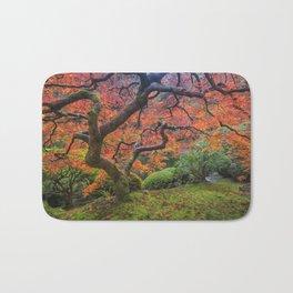Japanese Maple Tree Bath Mat