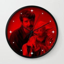 George Lucas - Celebrity (Photographic Art) Wall Clock