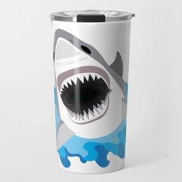 Shark Attack #2 Travel Mug