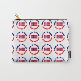 motto of norway 2 -alt for norge Carry-All Pouch